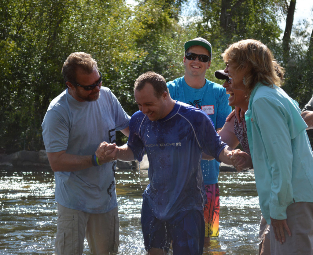 All Church Picnic and River Baptism
