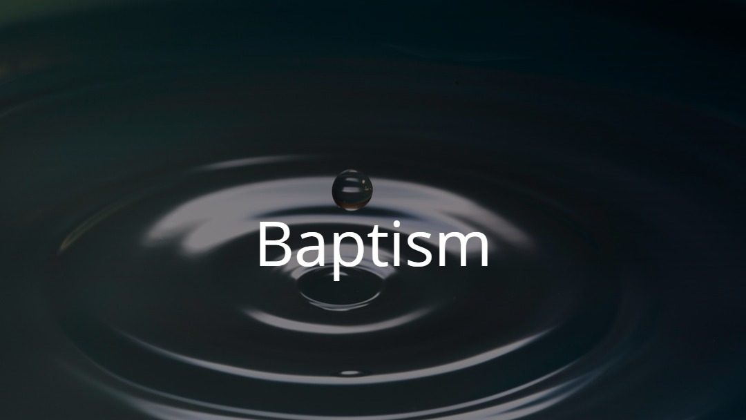 Baptism Reaffirmation Weekend of March 30-31