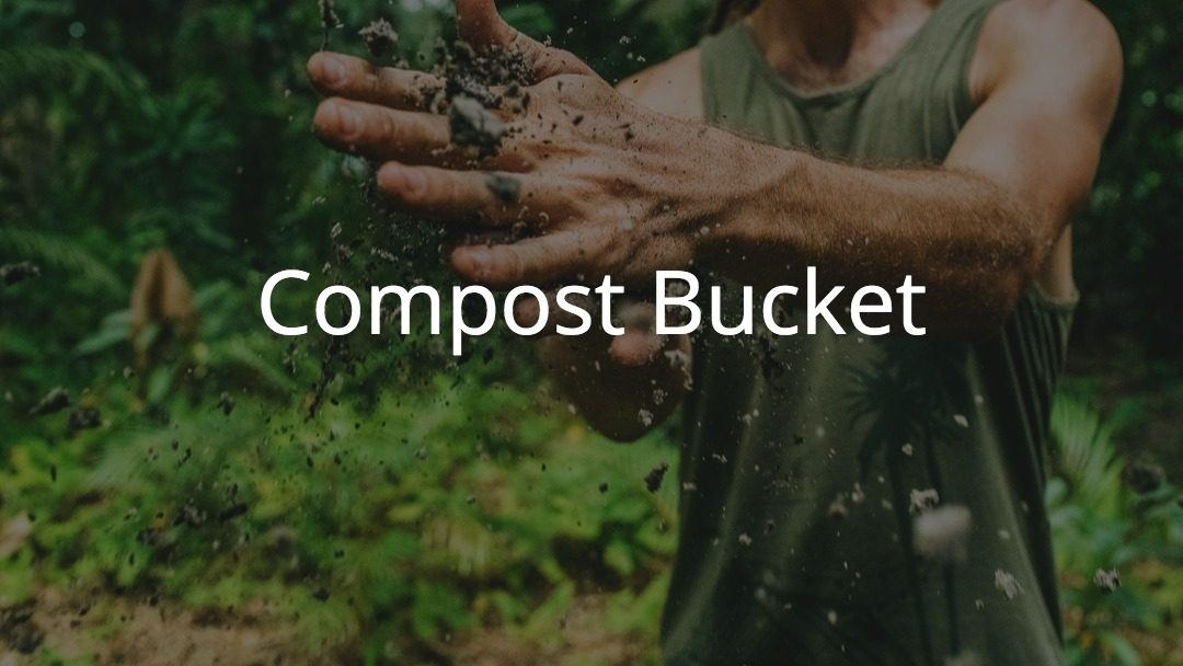 The Green Compost Bucket!