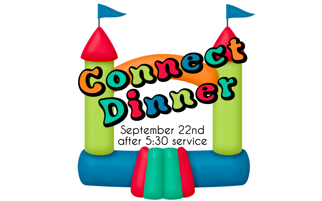 Connect BBQ Potluck September 22nd