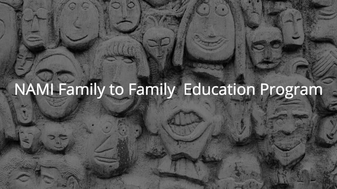 NAMI Family to Family Education Program Starts in September