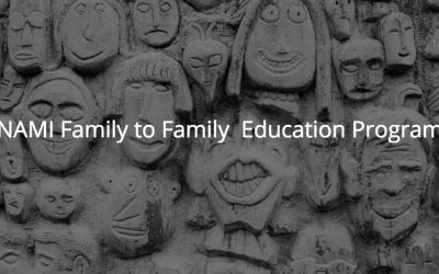 NAMI Family to Family Mental Health Education Class Starting In September