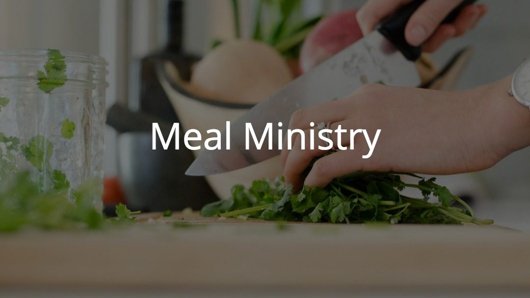 Leader of Meal Ministry