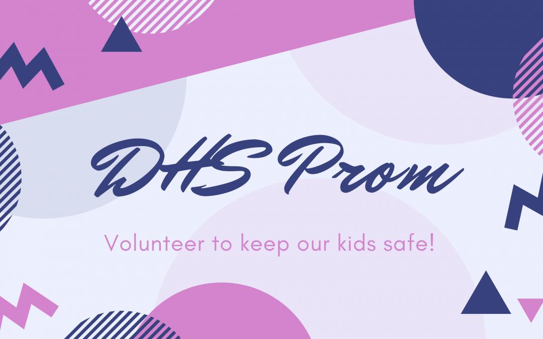 Durango After Prom Event Needs Volunteers!