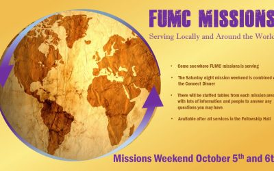 Mission Weekend at FUMC
